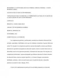 ESTRATEGIAS PARA FAVORECER LA COMPRENSIÓN LECTORA EN UN GRUPO DE ...