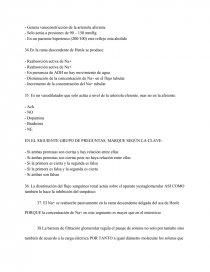 Examen De Fisiologia Renal Composiciones De Colegio Kate